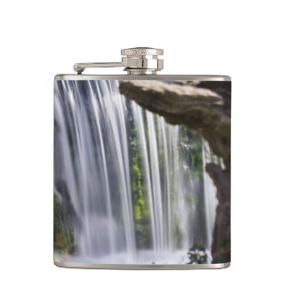 Waterfall Focused Hip Flask