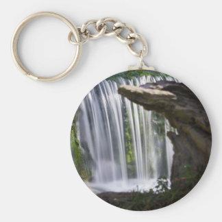Waterfall Focused Key Ring