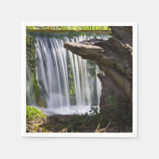 Waterfall Focused Paper Napkin