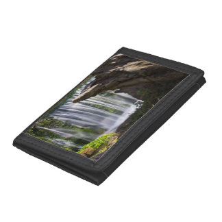 Waterfall Focused Tri-fold Wallet