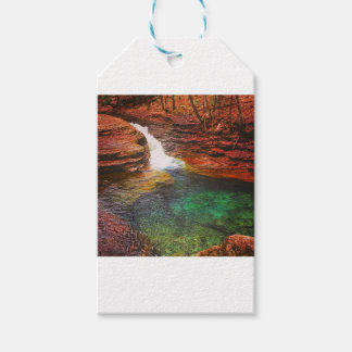 Waterfall Gift Tags
