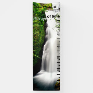 Waterfall Grow Chart Banner