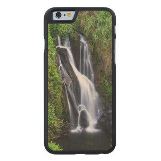 Waterfall, Hamakua coast, Hawaii Carved Maple iPhone 6 Case
