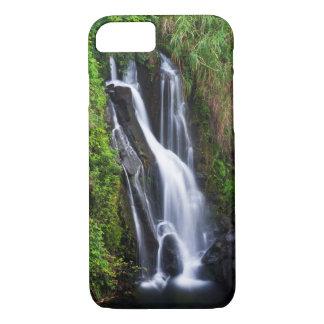 Waterfall, Hamakua coast, Hawaii iPhone 8/7 Case