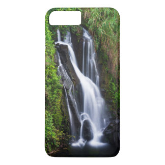 Waterfall, Hamakua coast, Hawaii iPhone 8 Plus/7 Plus Case
