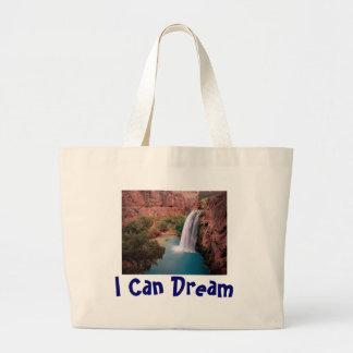 Waterfall, I Can Dream Jumbo Tote Bag