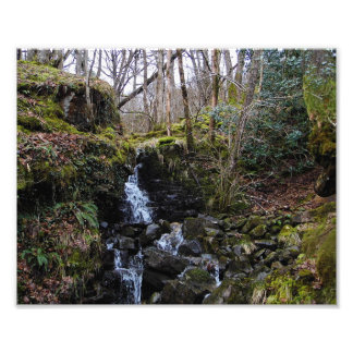 Waterfall in Brecon beacons national park, Wales Photo
