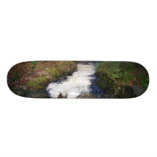 Waterfall in Ireland Custom Skateboard