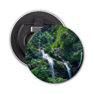 Waterfall in Maui Hawaii Bottle Opener