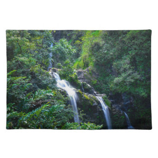 Waterfall in Maui Hawaii Placemat