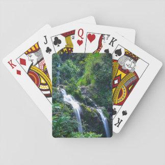 Waterfall in Maui Hawaii Playing Cards