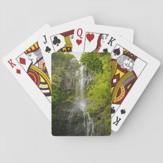 Waterfall in Maui Hawaii Poker Deck