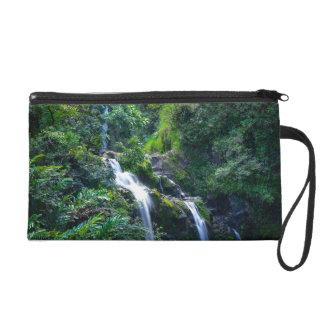 Waterfall in Maui Hawaii Wristlets