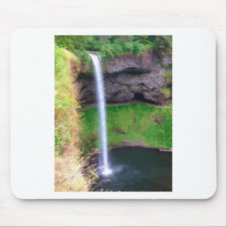 Waterfall in Oregon Mouse Pad