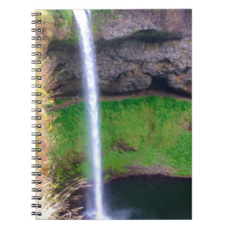 Waterfall in Oregon Notebook