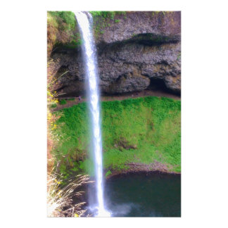 Waterfall in Oregon Stationery