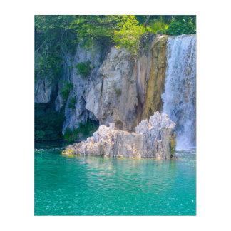Waterfall in Plitvice National Park in Croatia Acrylic Print