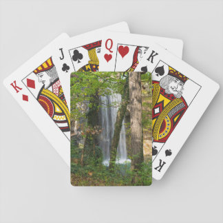Waterfall In The Woods Playing Cards