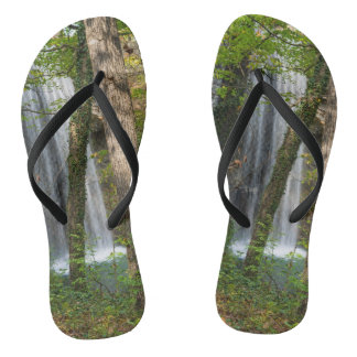 Waterfall In The Woods Thongs