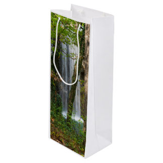 Waterfall In The Woods Wine Gift Bag
