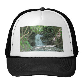 Waterfall in Woods Mesh Hats