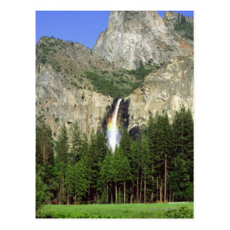 Waterfall in Yosemite National Park, California, Postcard