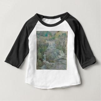 Waterfall - John Henry Twachtman Baby T-Shirt