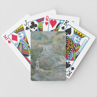 Waterfall - John Henry Twachtman Bicycle Playing Cards