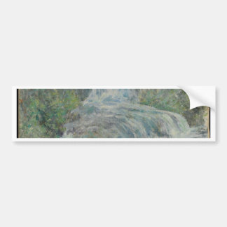 Waterfall - John Henry Twachtman Bumper Sticker