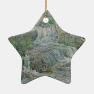 Waterfall - John Henry Twachtman Ceramic Ornament