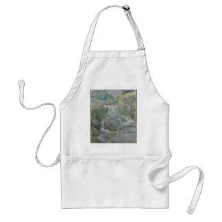 Waterfall - John Henry Twachtman Standard Apron