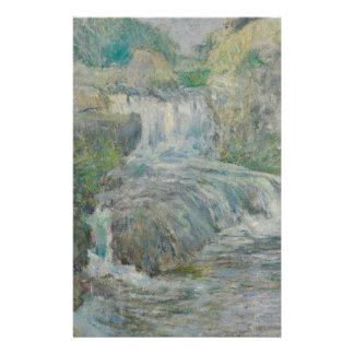 Waterfall - John Henry Twachtman Stationery
