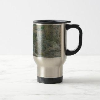 Waterfall - John Henry Twachtman Travel Mug