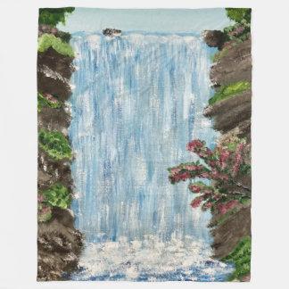 Waterfall Large Fleece Blanket