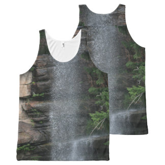 Waterfall Mist All-Over Print Singlet