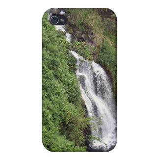 Waterfall Near Hilo, Hawaii - iPhone 4 Case