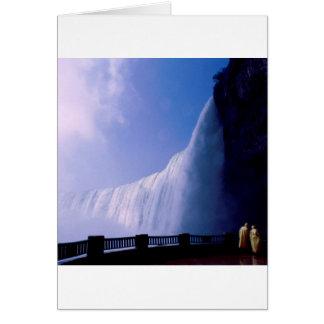 Waterfall Niagara Falls Card
