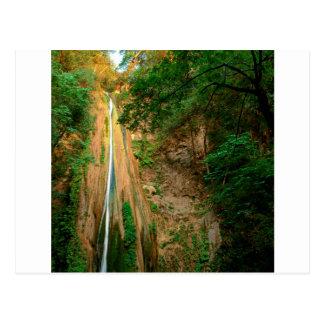 Waterfall Nojoqui Santa Barbara County Postcard