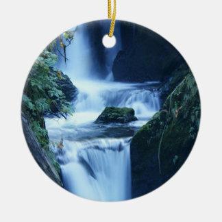 Waterfall ornament