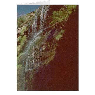 Waterfall Photos Card