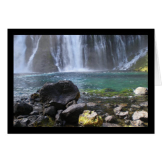 Waterfall Pool- Song of Sol. 2:3 Greeting Card