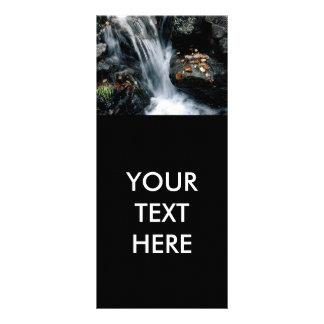 Waterfall Rack Card Template
