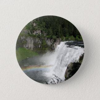 Waterfall Rainbow 6 Cm Round Badge