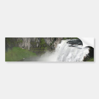 Waterfall Rainbow Bumper Sticker
