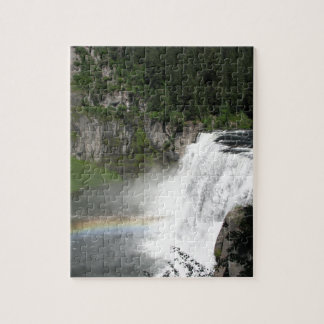 Waterfall Rainbow Jigsaw Puzzle