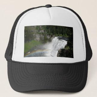 Waterfall Rainbow Trucker Hat