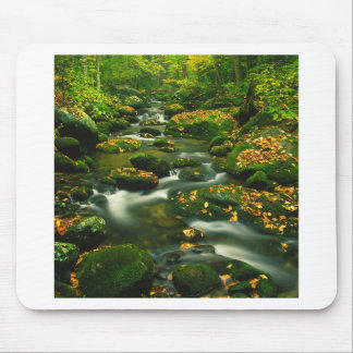 Waterfall Roaring Fork Smoky Mountian Mouse Pads