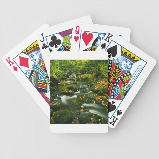 Waterfall Roaring Fork Smoky Mountian Poker Deck