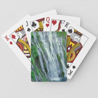 Waterfall scenic, California Playing Cards