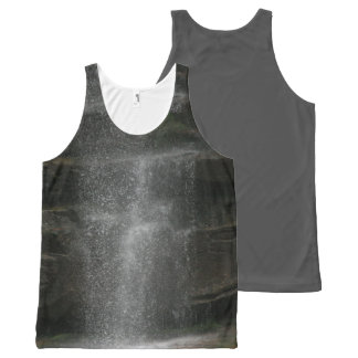 Waterfall Spray All-Over Print Singlet